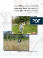 Woodlawn Cemetery Survey Report - May, 2012