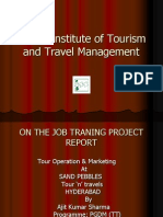Tour Operation and Marketing