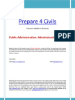 Ignou Pub Ad 01 Administrative Theory