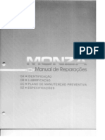 Manual de Reparações - Monza 90 - GM Chevrolet