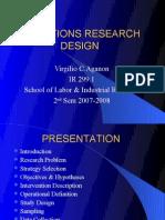Opn Research Design