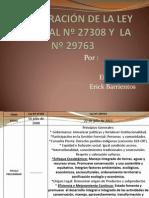 COMPARACIÓN DE LA LEY FORESTAL 1