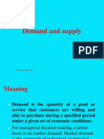 Demand Supply, ED 5,6,7
