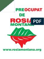 Sticker Preocupat - Rosia Montana