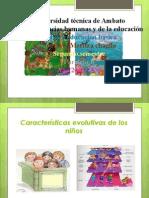caracteristicas de los niños de tres a cinco años