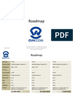 Roadmap OVH 20120620
