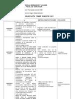 Calendarización Cursos Didáctica de la matemática (1)