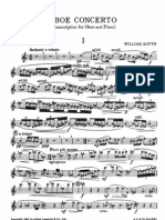 8119188 Alwyn Oboe Concerto Oboe Piano