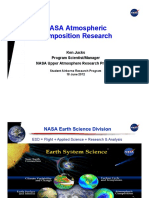 NASA Atmospheric Composition Research