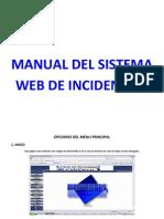 Manual Del Sistema Web de Incidencias