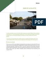 1. Tecnne. Park of La Villette