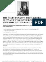 Saudi Royal Family Could Be Jewish
