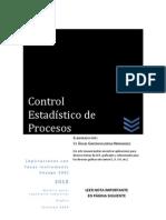 Control Estadístico de Procesos- Aplicaciones con Voyage 200