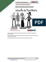 Calaveritas de Papel Mache-Día de Muertos en PDF