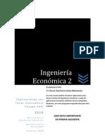 Ingeniería Económica 2- Aplicaciones con Voyage 200