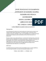 Caracteristicas Quimicas de Los Aditivos(Material Anexo Unidad-2)