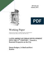 Latin American Development Into 21st Century