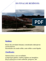 Aterros Sanitários 2012