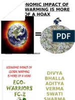 Economic Impact of Global Warming is More of a Hoax