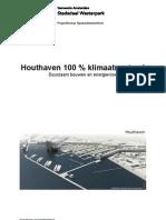 2010-03-02 Besluitdoc Energievoorziening Houthaven Definitief