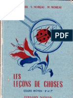 Leçons de choses