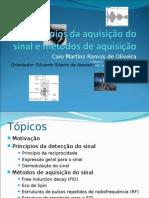 Conceitos de detecção de sinal e métodos de aquisição