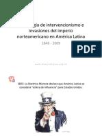 Invaciones de EEUU en Amèrica