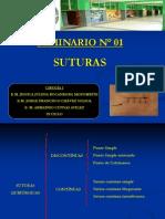 SEMINARIO SUTURAS 2012