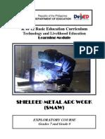 k to 12 Smaw Welding Learning Module