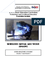 k to 12 Smaw Welding Learning Module