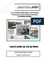 k to 12 Mechanical Drafting Learning Module
