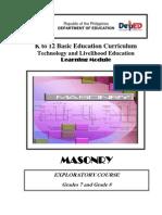 k to 12 Masonry Learning Module