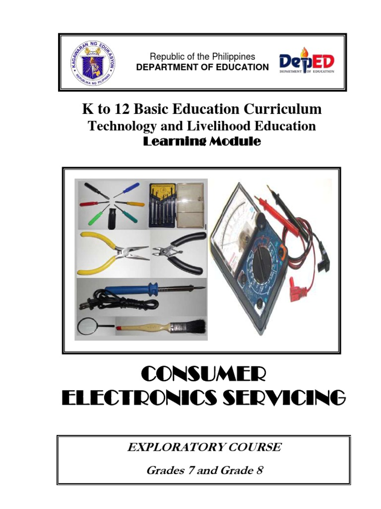 k to 12 Electronics Learning Module   Resistor   Electric Current