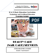 k to 12 Nail Care Learning Module