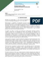 1o Position Paper Cassio Druziani Aula1!01!04