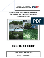 k to 12 Horticulture Learning Module
