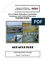 k to 12 Aquaculture Learning Module