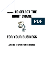 Select the Right Crane for Your Business