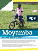 Moyamba Community Report (Sierra Leone)