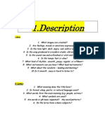 Description Analysis Interpretation Background and Judgment