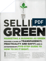 Selling Green