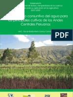 Manual Consuntivo Del Agua Para Cultivos de Los Andes Centrales