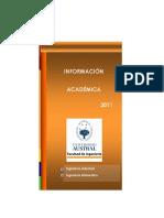 Libro Información Académica 2011