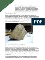 Batuan Sedimen Adalah Batuan Yang Paling Banyak Tersingkap Di Permukaan Bumi