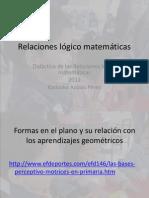 Relaciones lógico matemáticas