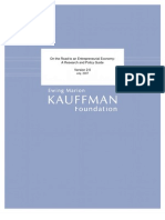 Kaufmann Policy Roadmap