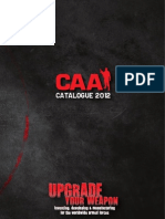 CAA Tactical Catalog 2012