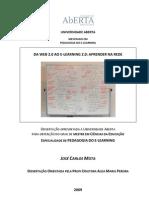 Web20 E-learning20 Aprender Na Rede
