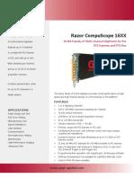 GaGe Razor CompuScope