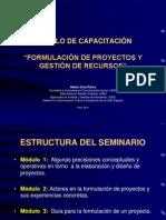SEMINARIO – TALLER Formulación Proyectos HUP